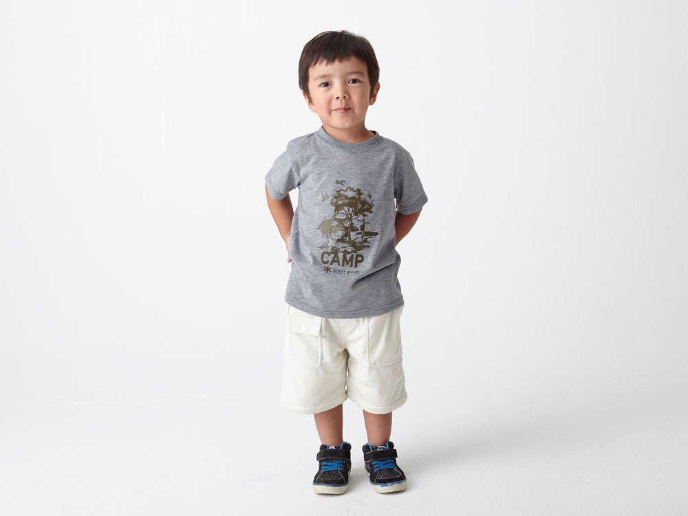 Kids Flexible Insulated Shorts 3 Grey1