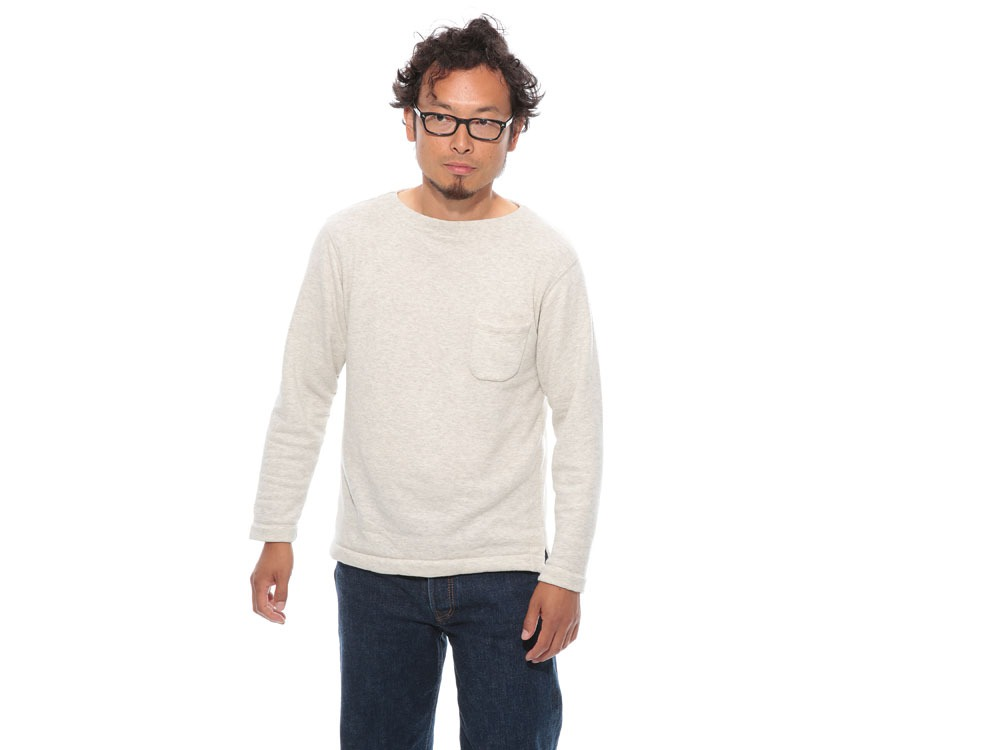 Cashmere Relaxin' Sweat Pullover L Grey2