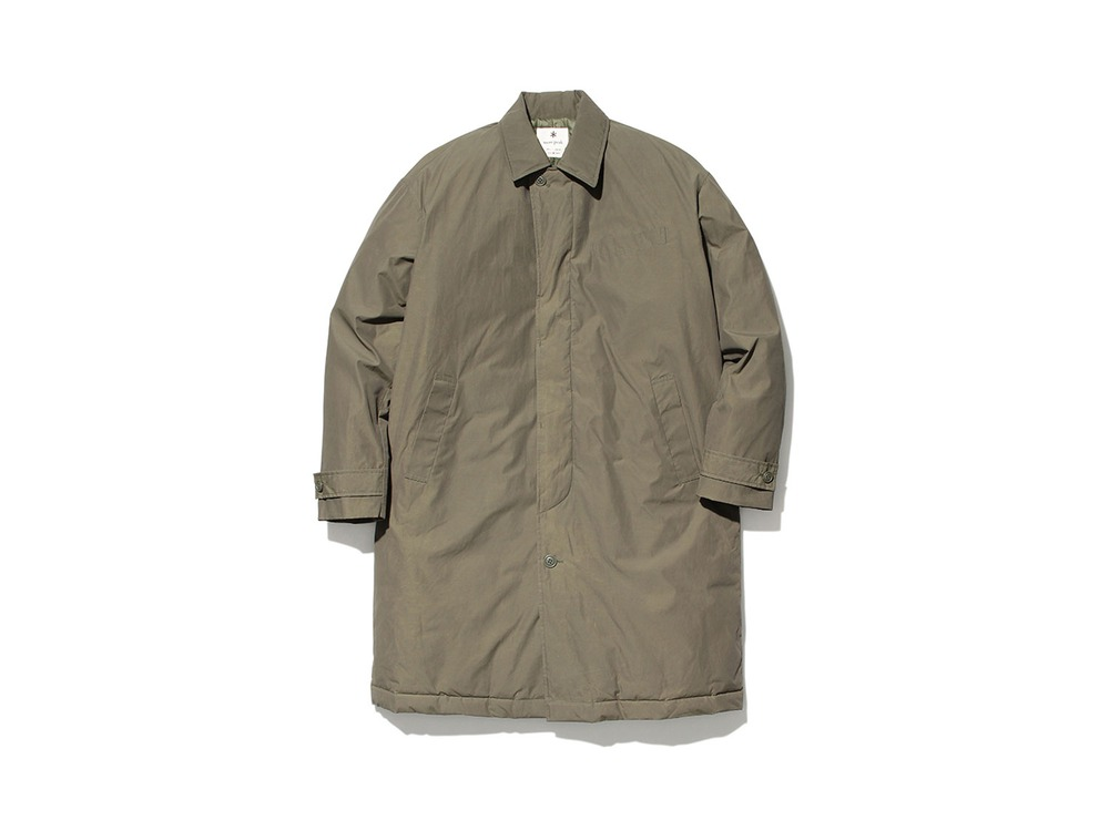 Waxed C/N Down Coat XL Olive