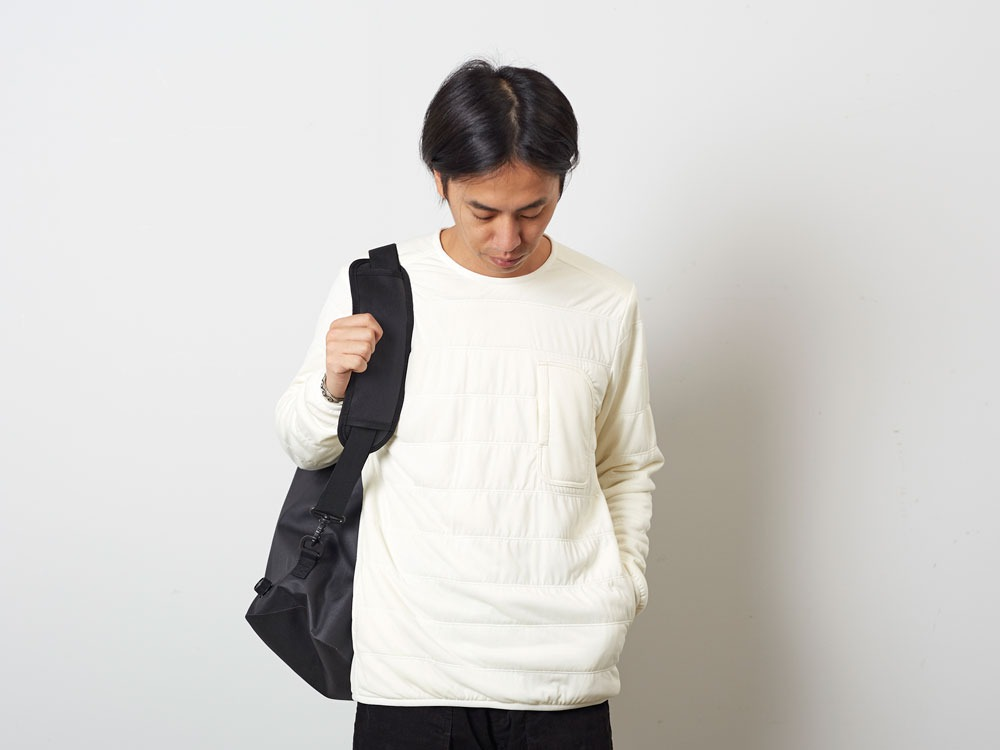 FlexibleInsulatedPullover  S White10