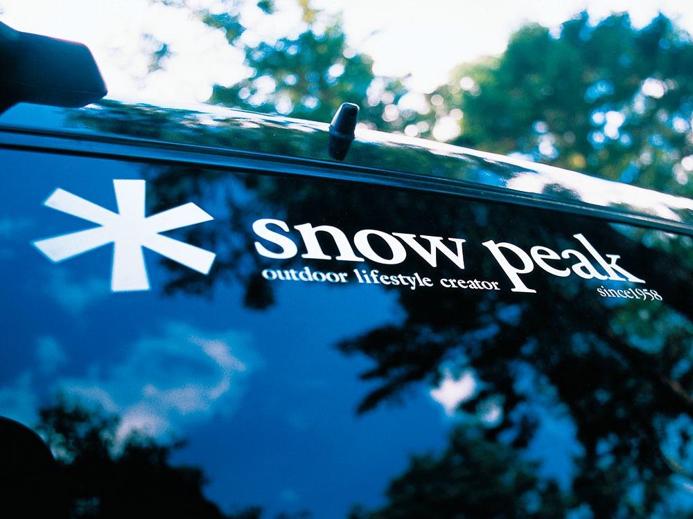 Snow Peak Logo Sticker Asterisk1