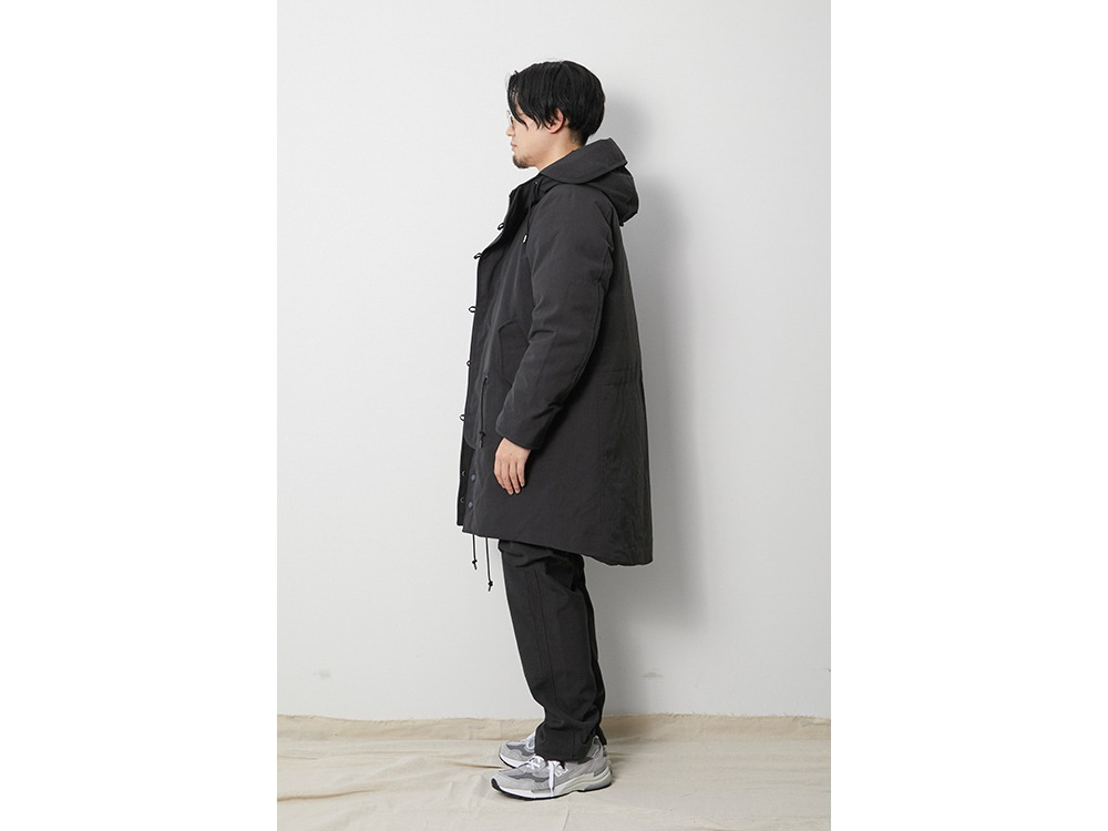 TAKIBI Down Coat M Black