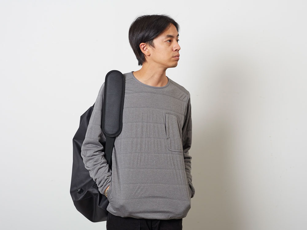 FlexibleInsulatedPullover 1 M.Grey10