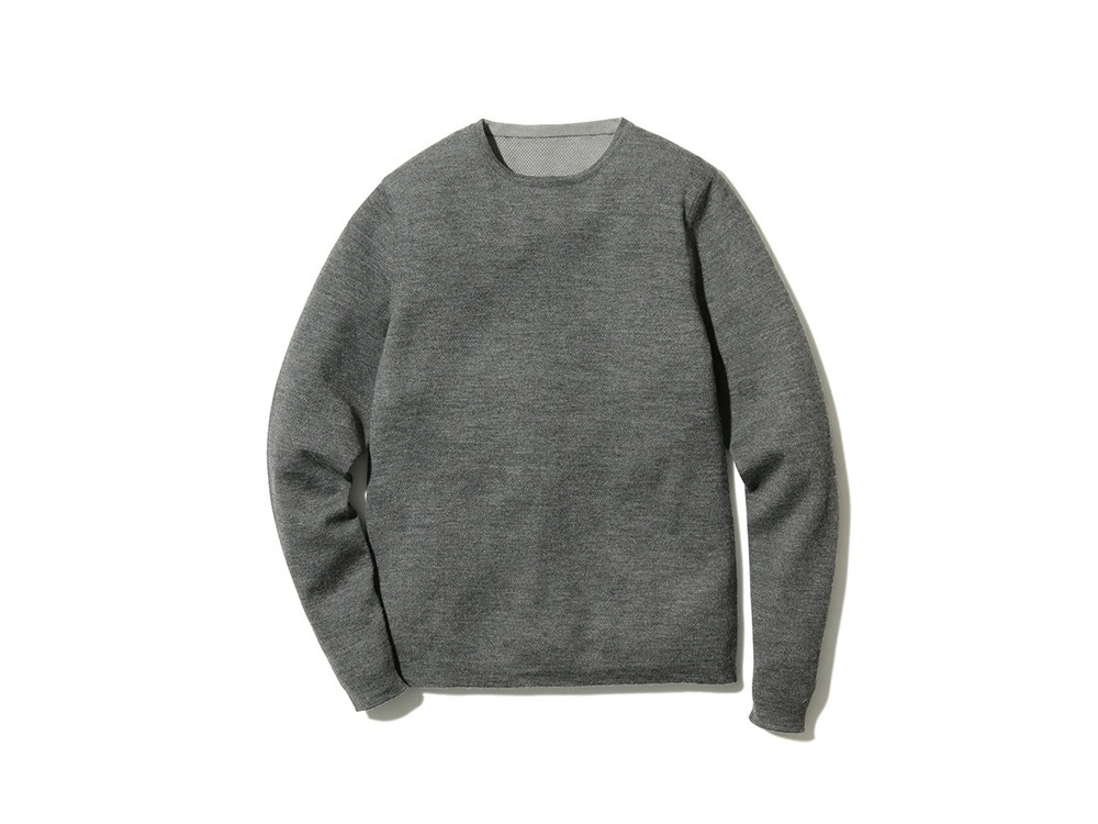 Crew Neck Base Layer M Grey
