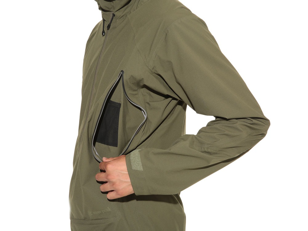 3L Light Shell Jacket S Olive6