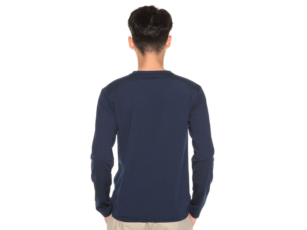 TAKIBI Long Sleeve T shirt 1 Navy4