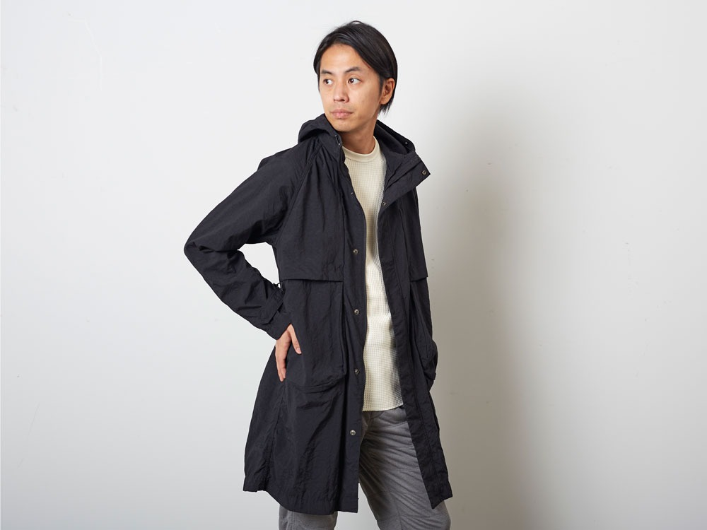 DWRNylonTrenchCoat 2 Black10