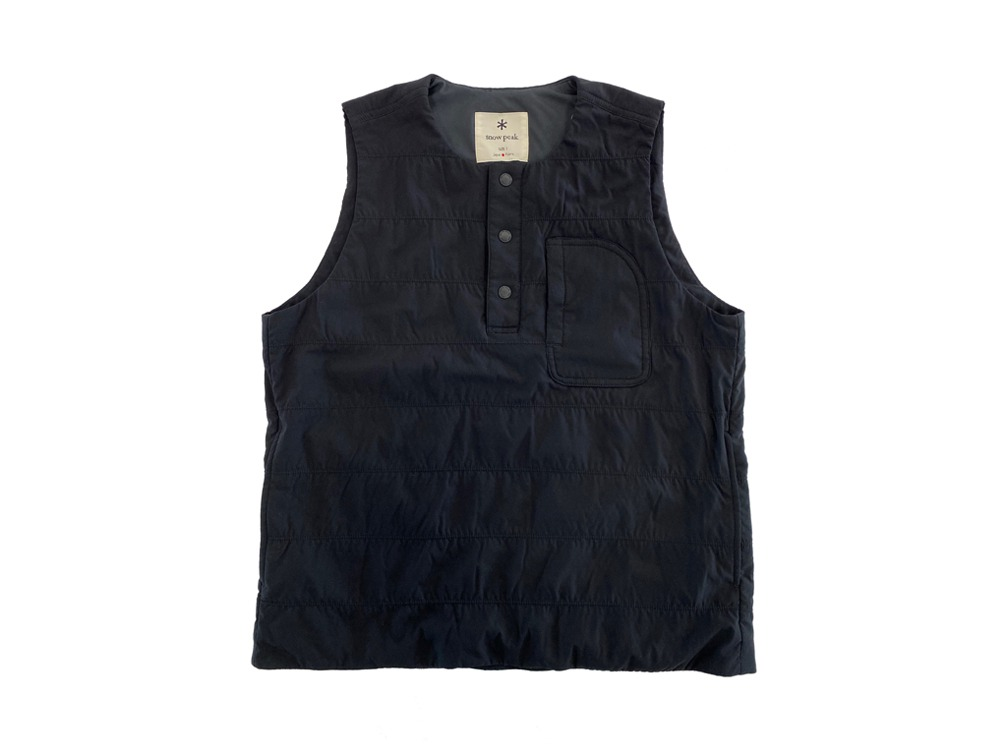 Flexible Insulated Vest S Black