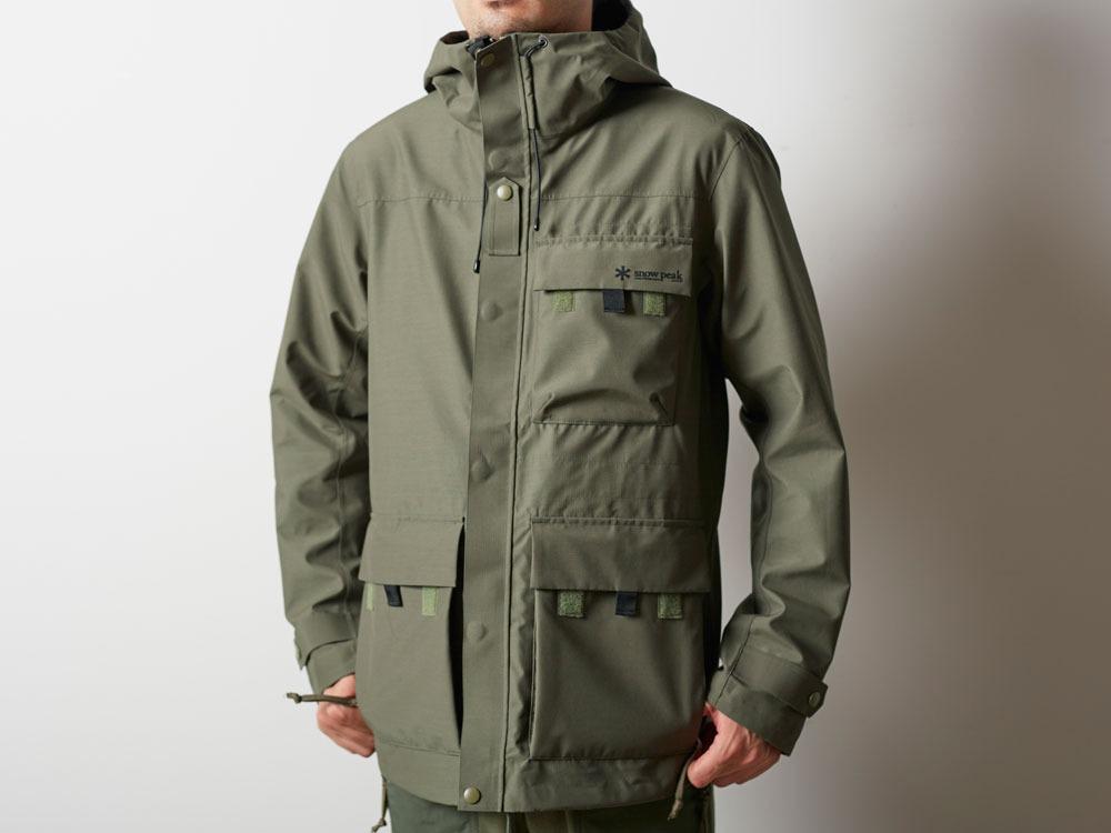 FR Rain Jacket M Olive9