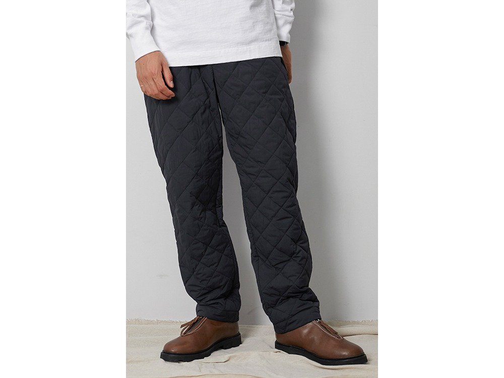 Recycled Ny Ripstop Down Pants M Black