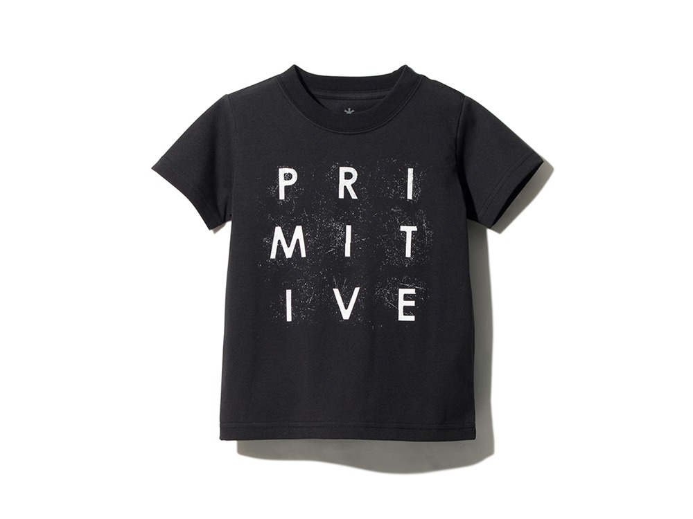 Kids Primitive Survival Tee 1 Black