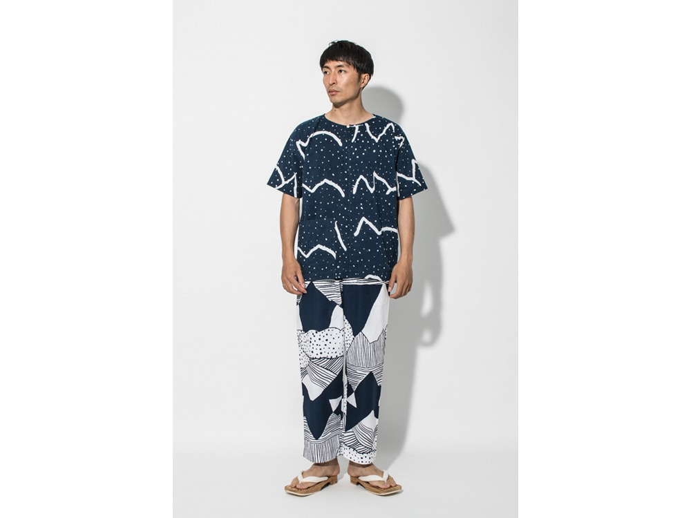 KOHABA PANTS Regular Nihon Batik one WN