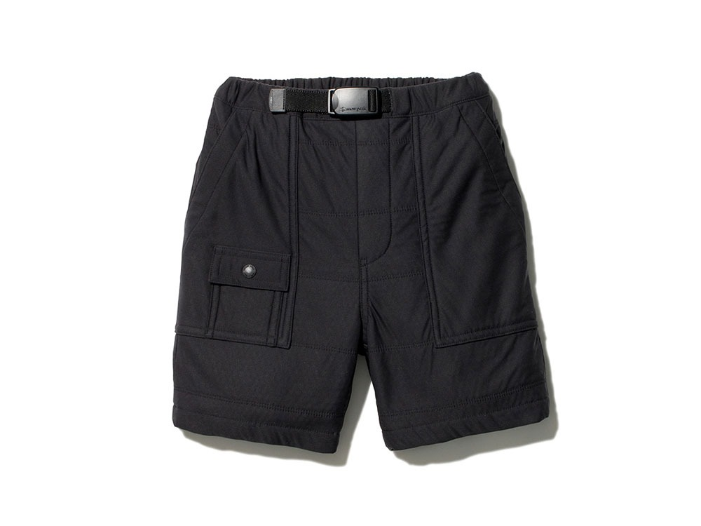 Kids Flexible Insulated Shorts 2 Black