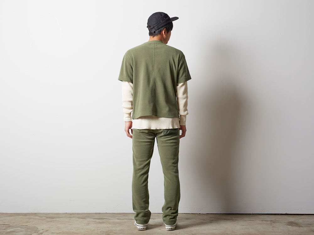 R/Pe Fleece Tshirt 2 Olive3