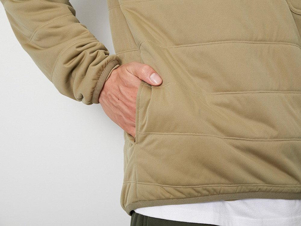 Flexible Insulated Pullover 1 Beige