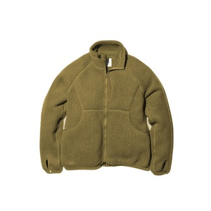 Thermal Boa Fleece Jacket S Olive