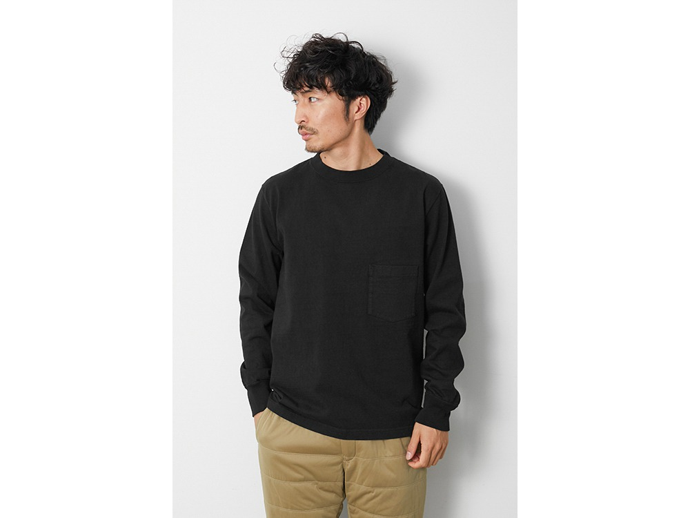 Heavy Cotton GD Crewneck L/S 1 WH