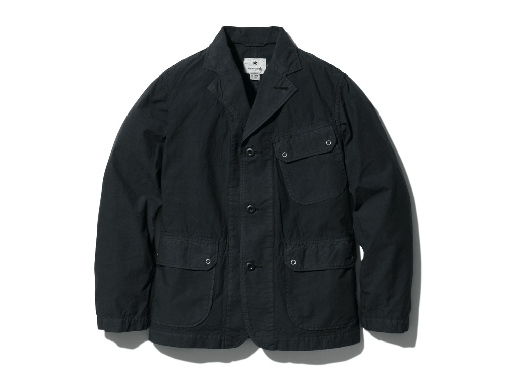 OrganicCottonJacket L Black0