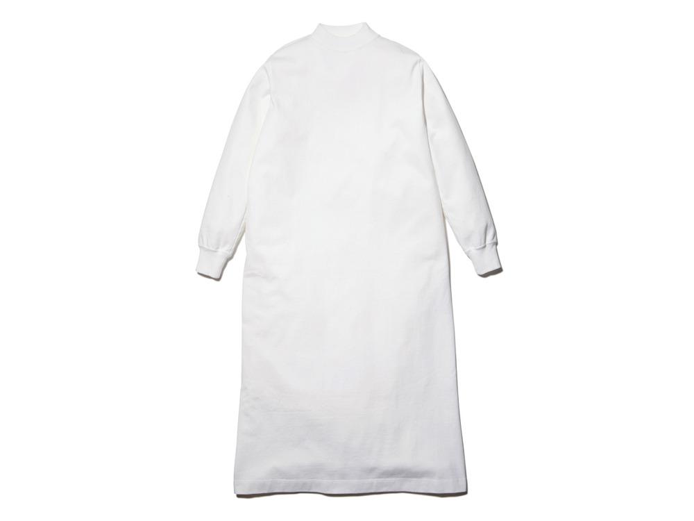 Heavy Cotton L/S Dress 1 White