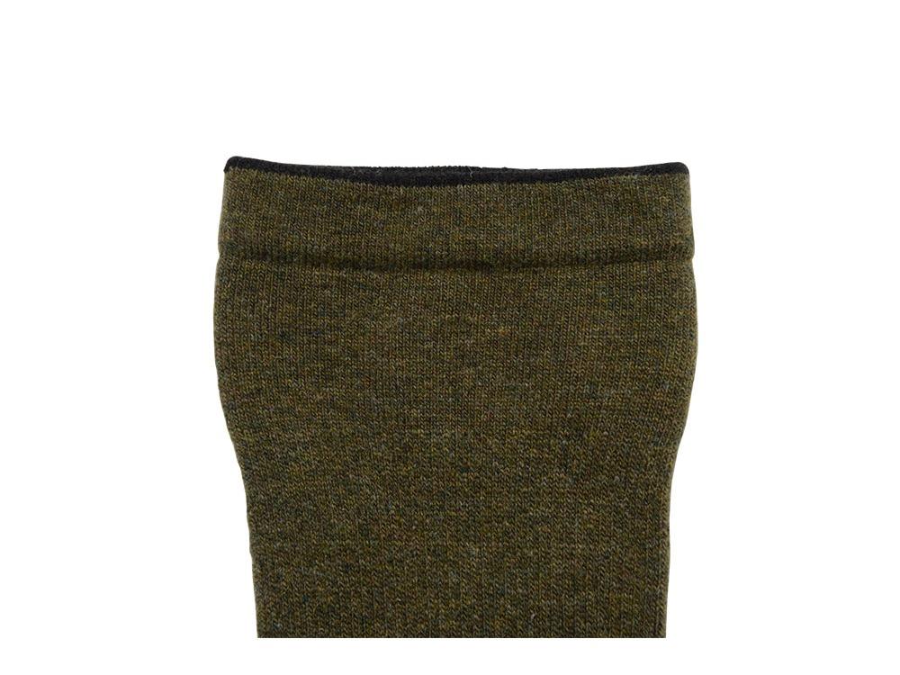 Wool Socks S Olive3