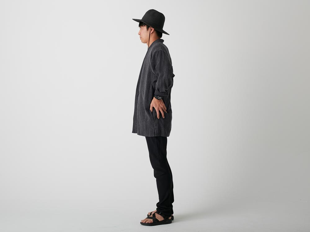 Spec Dyed OX Noragi Jacket 1 Black2