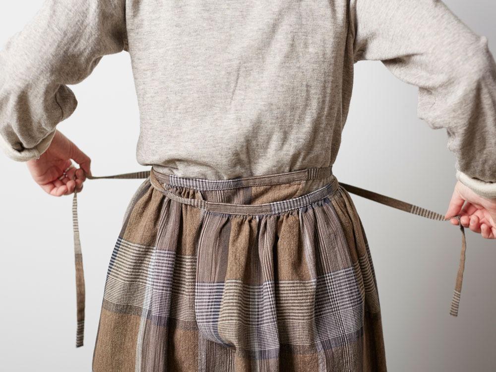 KASURI Skirt 1 Brown6