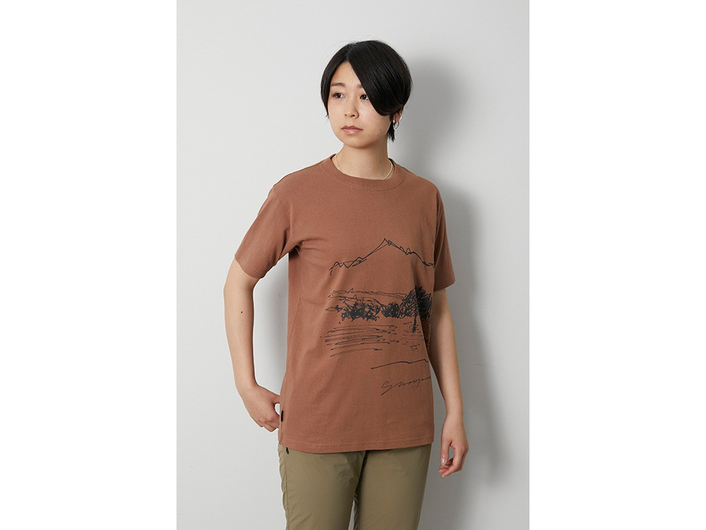 CF Graphic Tee L Orange