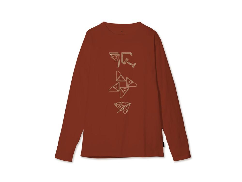 Fireplace ロングスリーブ Tシャツ S Orange