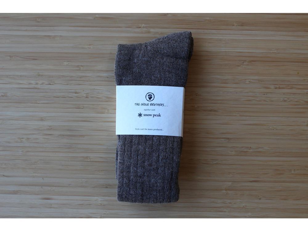 Socks L(27~29) Brown