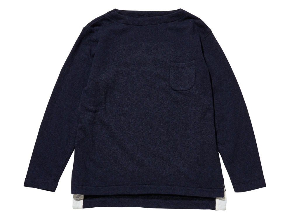 Cashmere Relaxin' Sweat Pullover 1 Navy0