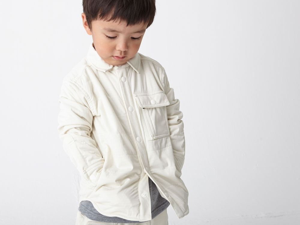 Kids Flexible Insulated Shirt 3 White6