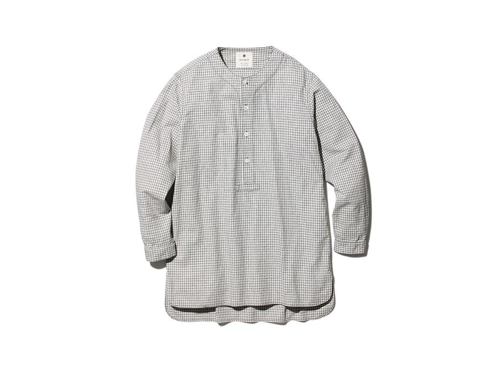 ナシジ スリーピングシャツ ギンガムチェック M ECBK