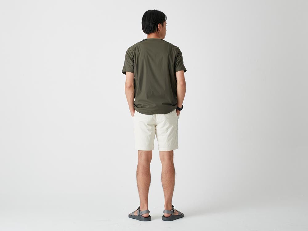 FlexibleInsulated Shorts 2 White4
