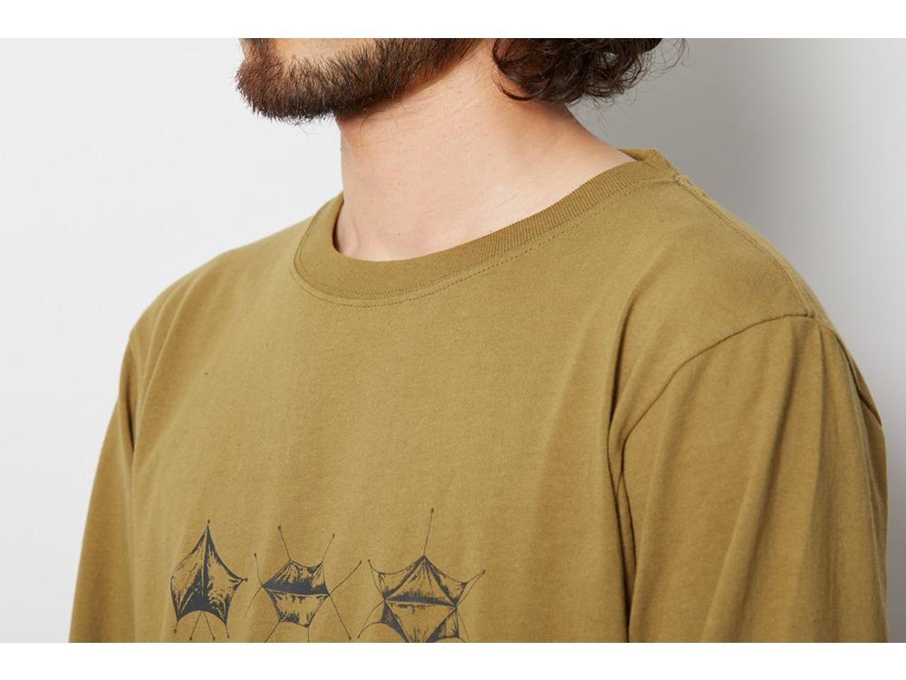 SP Tarp ロングスリーブ Tシャツ L Mustard