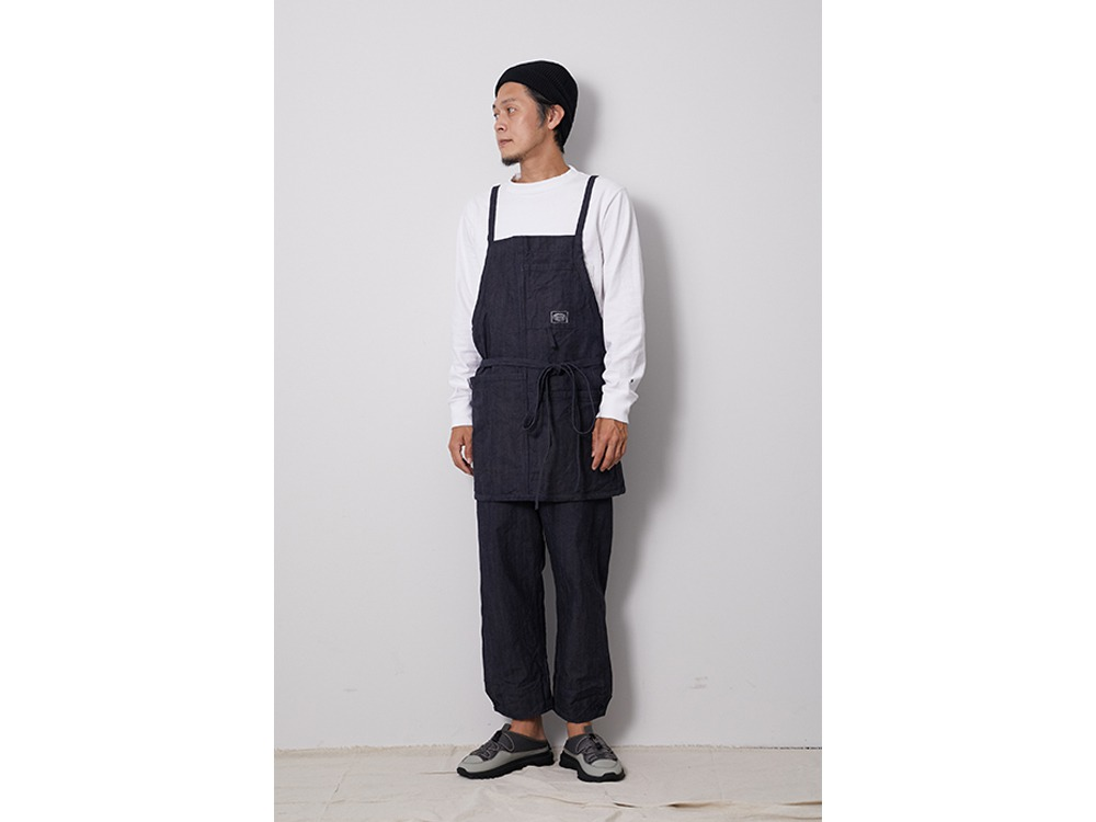 OG Canvas NORAGI Apron One Ecru