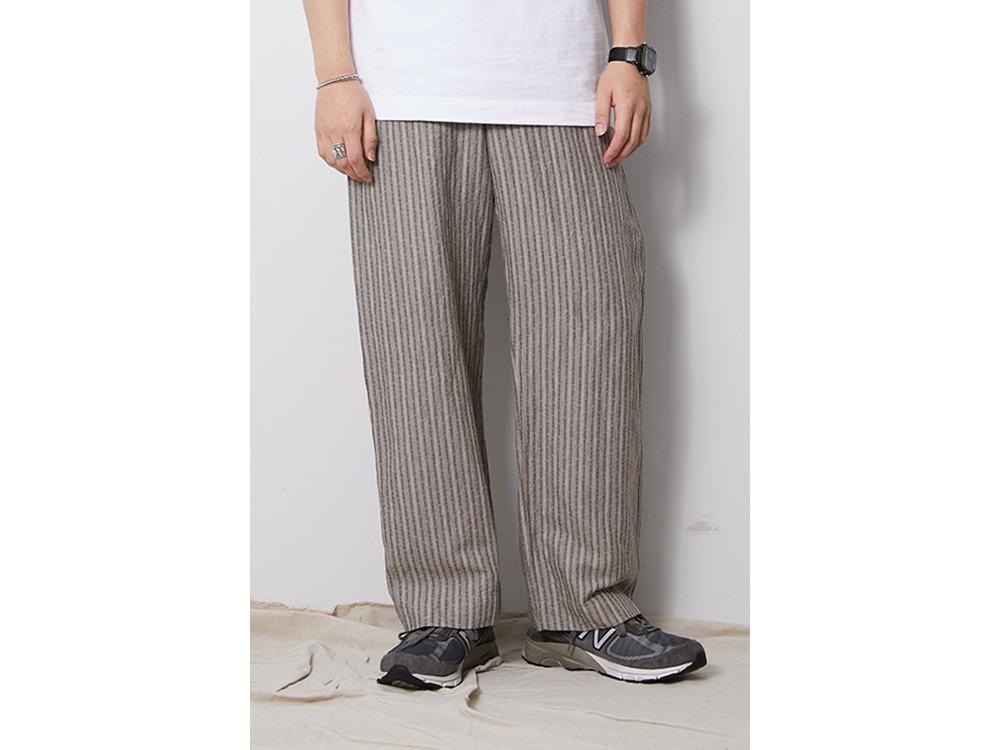 C/L Dobby Stripe Pants M Beige