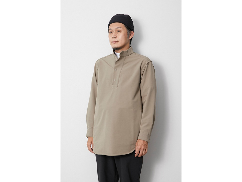 Nylon Power Wool Long Shirt S Olive
