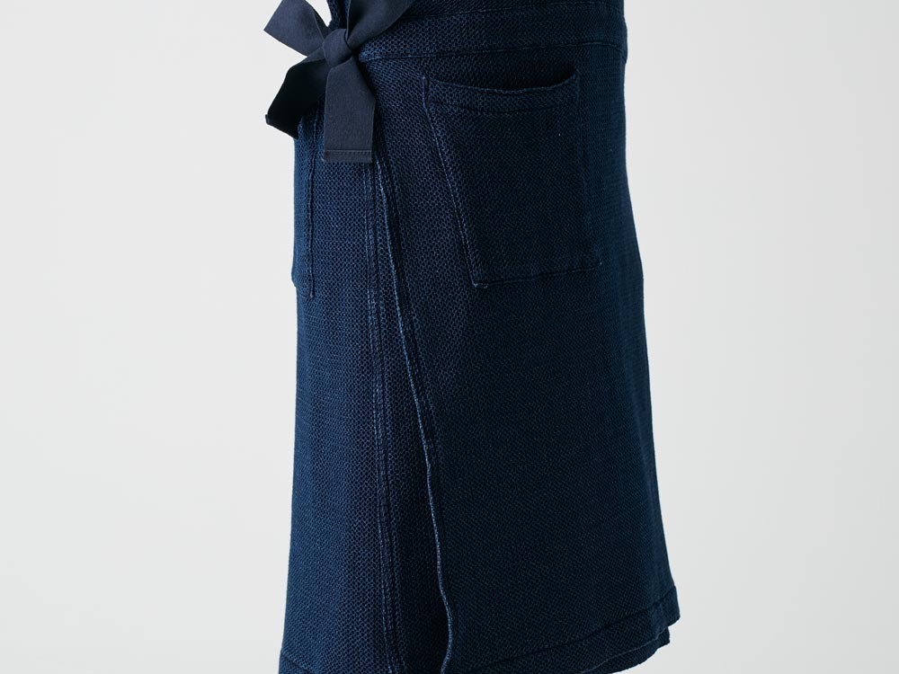 Dobby Denim Dress 3 Indigo7