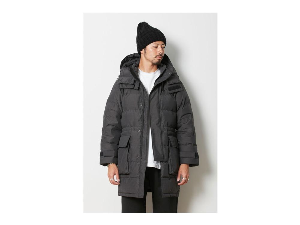 FR Down Coat L Black