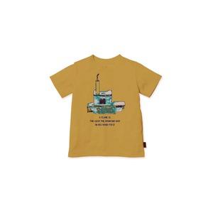 キッズ Auto Igniter Tシャツ 1 Mustard
