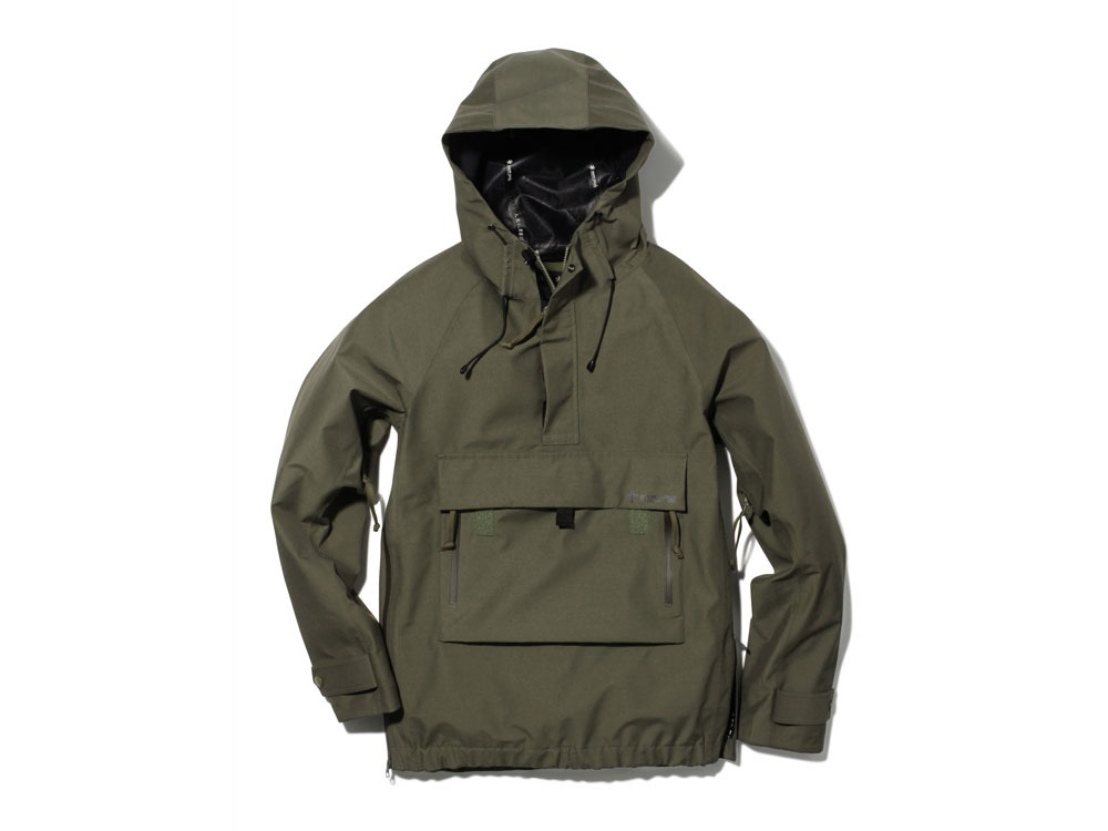 FR Rain Pullover M Olive0