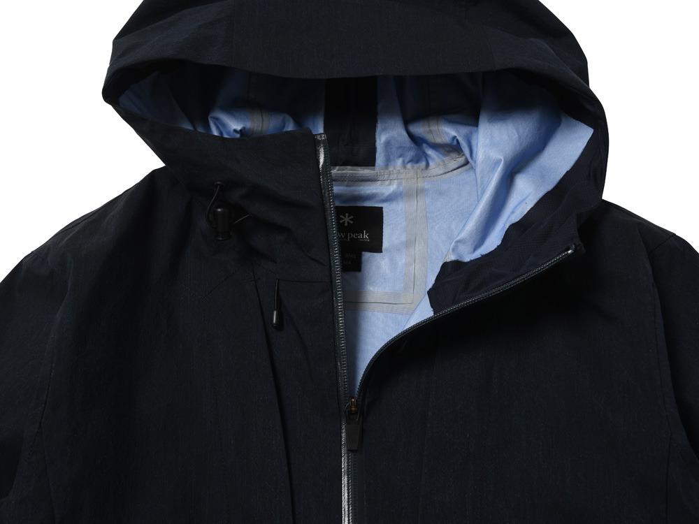 Indigo C/N 3L Rain Jacket M Indigo1
