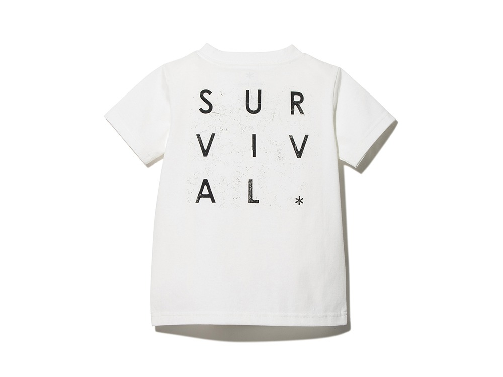 Kids Primitive Survival Tee 1 White