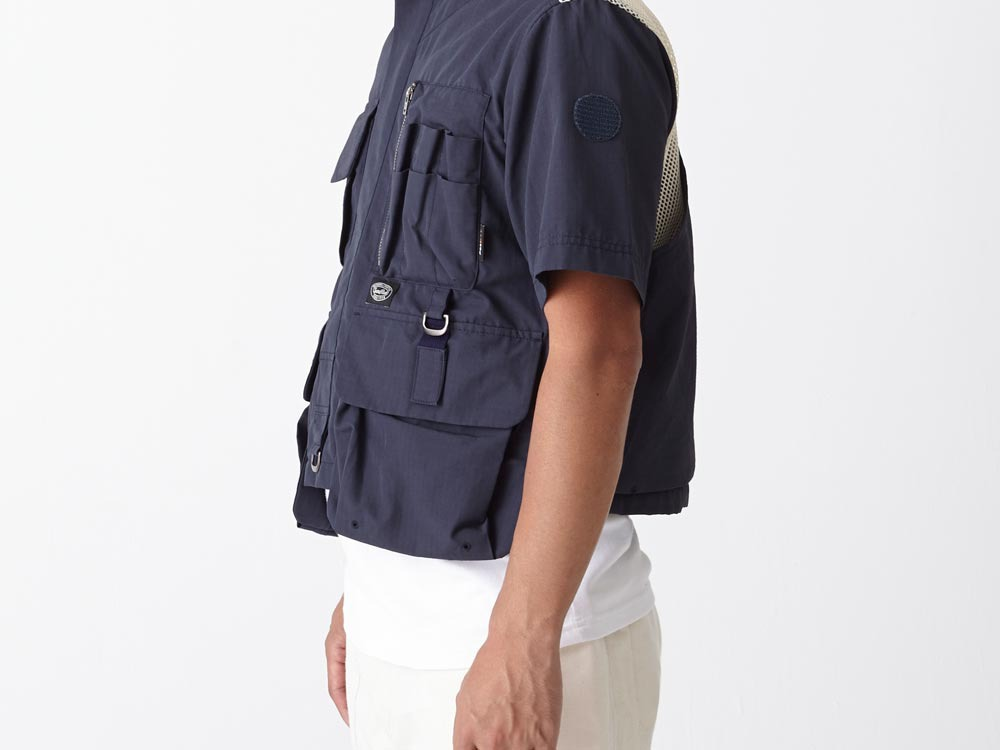 Utility Fishing Pullover S Navy8