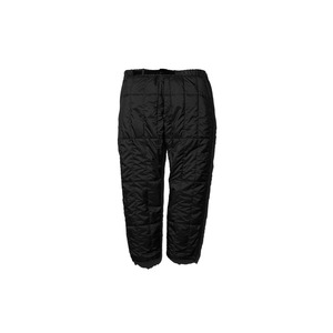 Recycled Middle Down Pants L Black