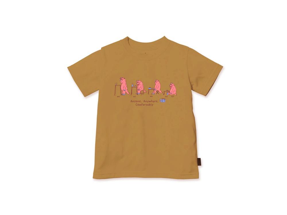 キッズ KKS Tシャツ 3 Mustard
