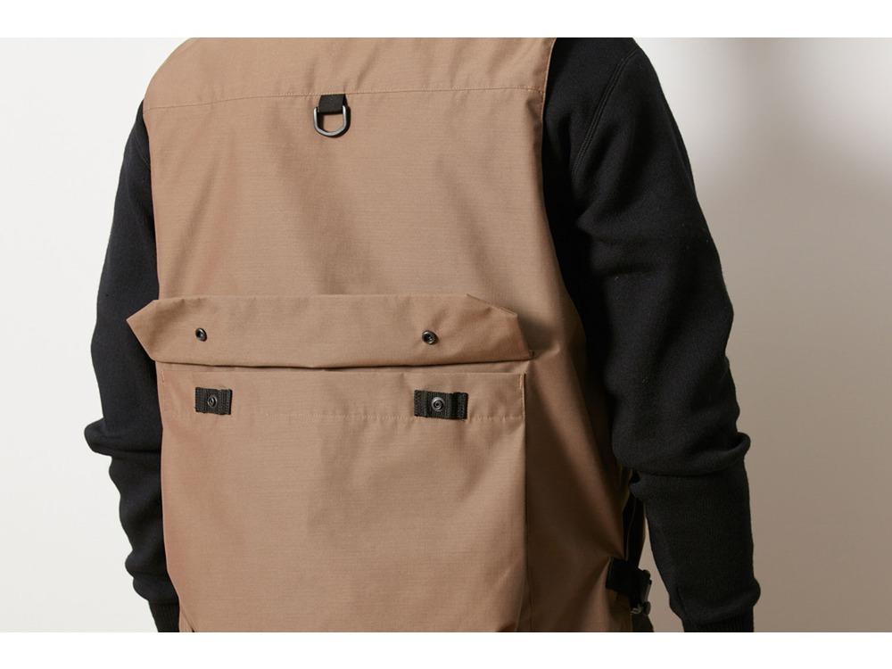 FR 3L Rain Vest S Olive