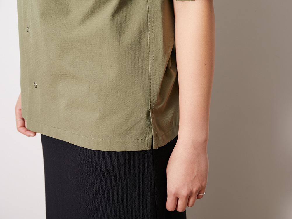Quick Dry Aloha Shirt XL Olive