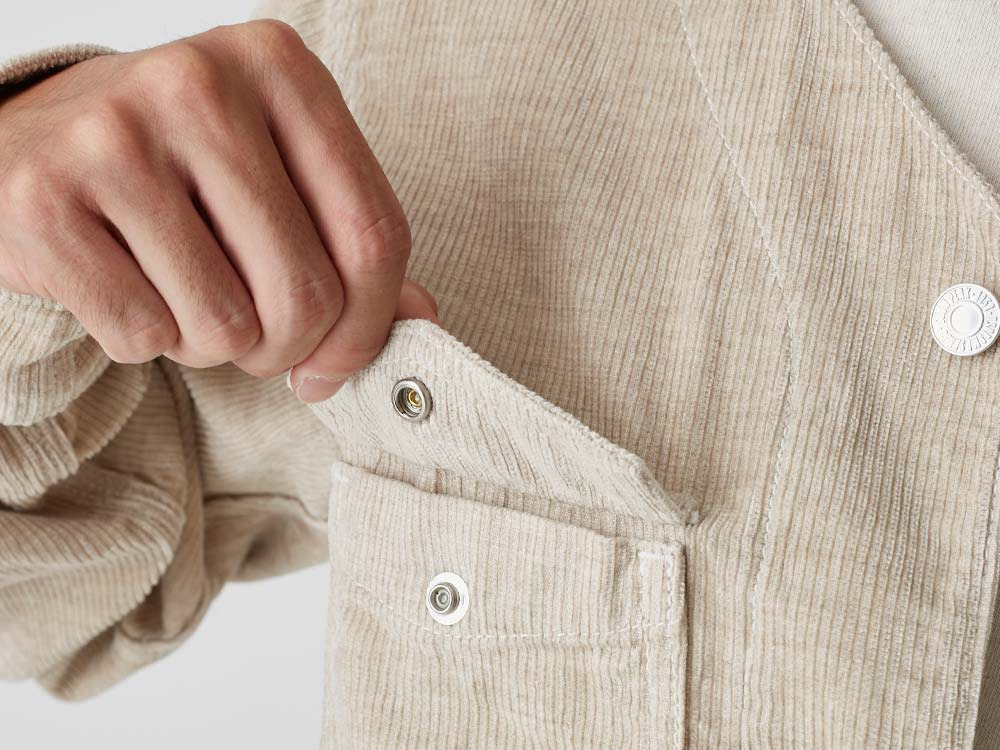 Linen Corduroy Jacket 2 Natural7