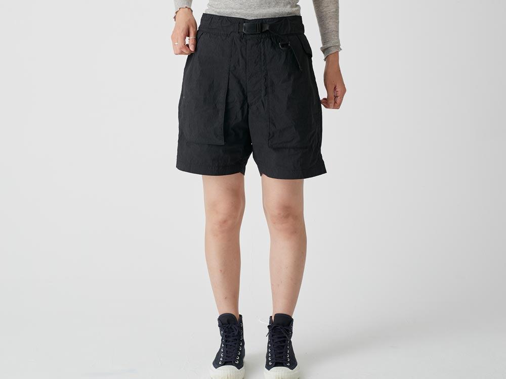 Indigo C/N  Anorak Shorts 2 Black2